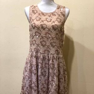 RED Valentino Sequins Dress